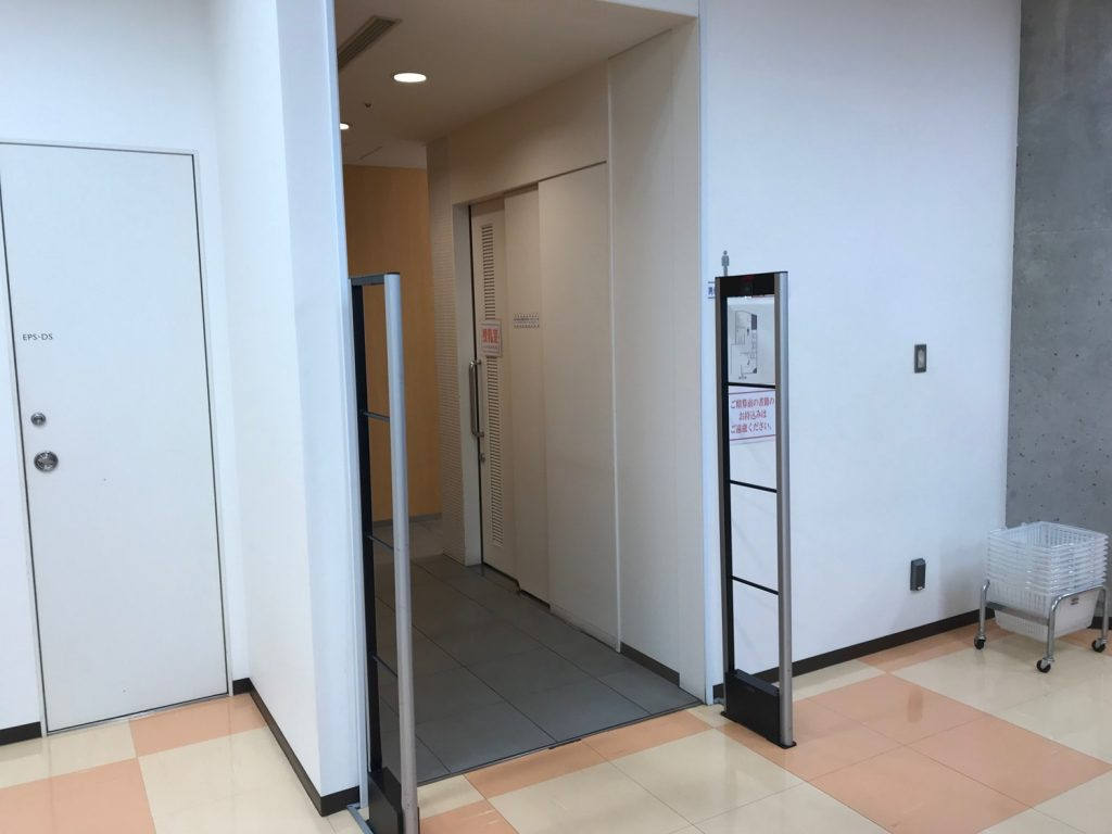 MARUZEN&ジュンク堂書店梅田店の授乳室前
