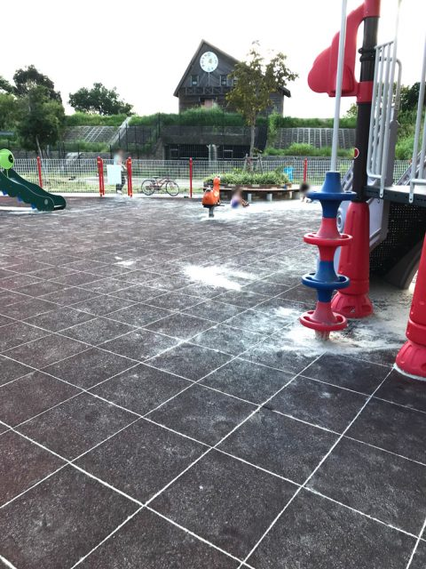 ロケット広場の幼児向けスペース