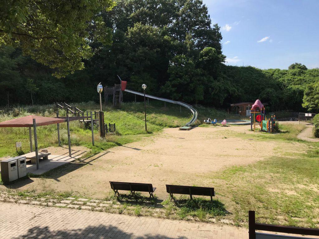 大阪吹田市の紫金山公園に子供を連れて行ってきた!穴場と言えば、、
