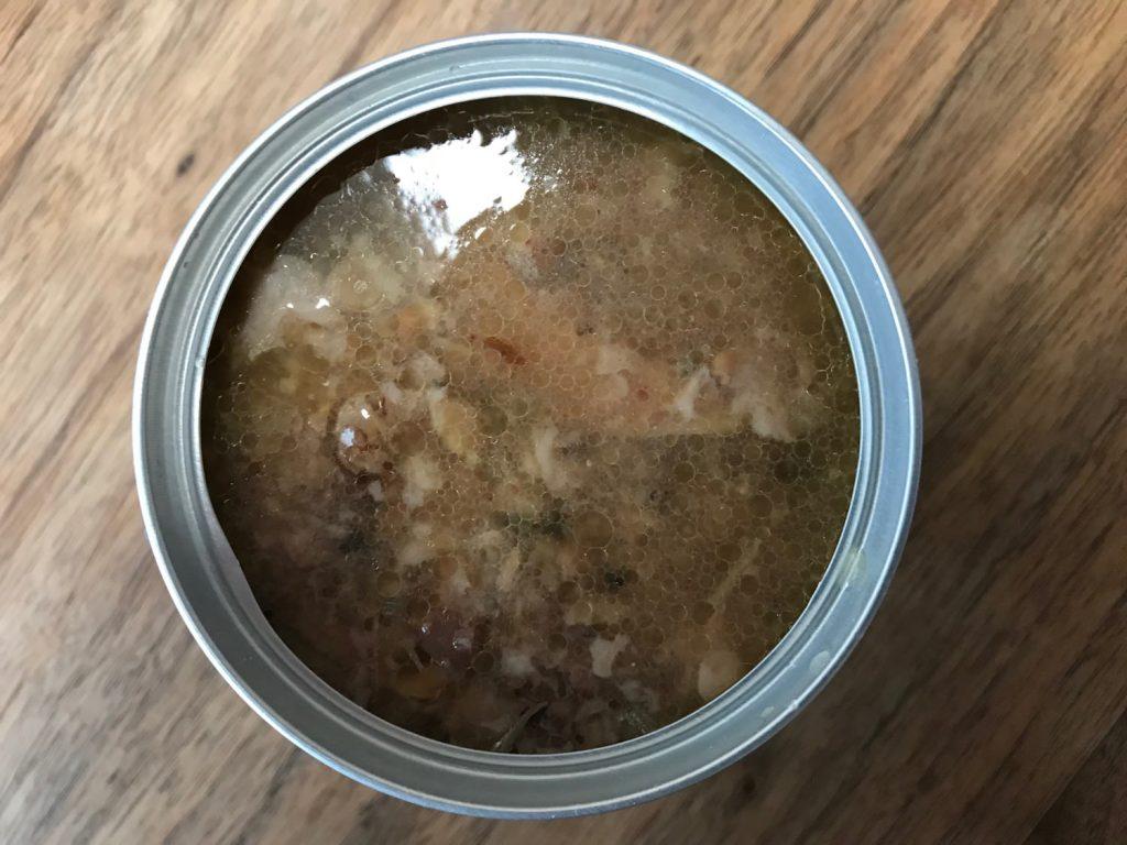 マルハニチロの鯖缶あけたとこ