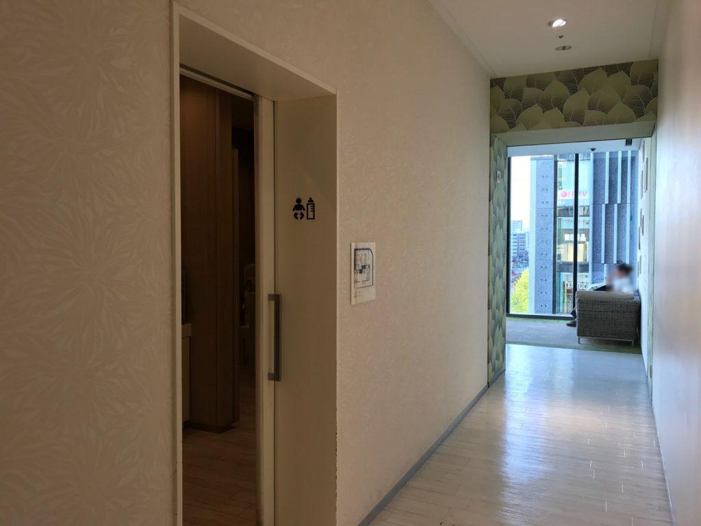 グランフロント大阪 南館4階の授乳室前